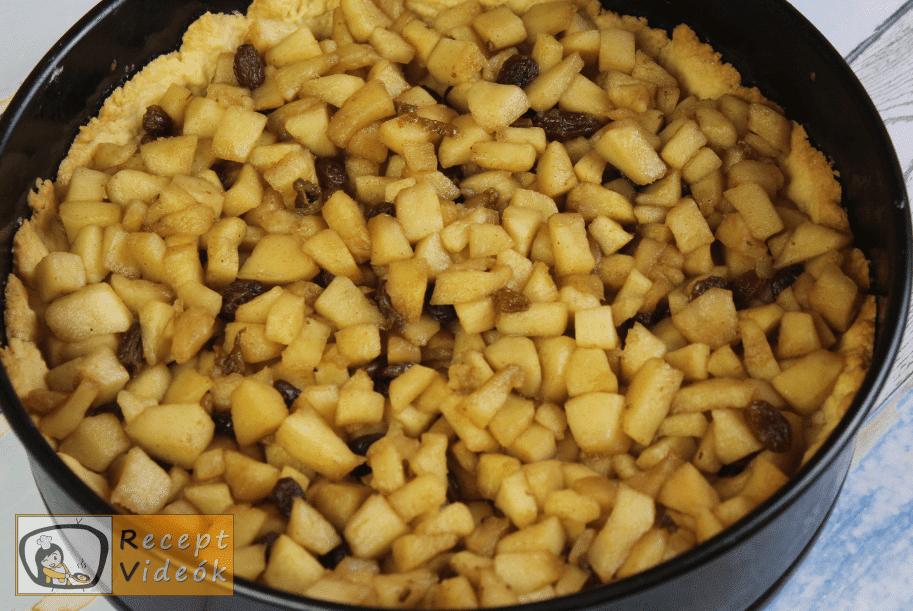fedett almás pite recept, fedett almás pite elkészítése 4. lépés