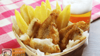 Fish and chips recept, fish and chips elkészítése - Recept Videók