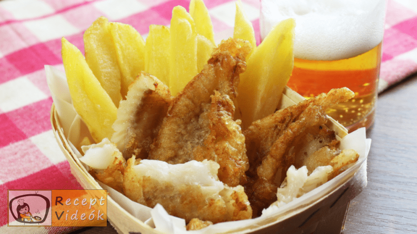 Fish and chips recept, fish and chips elkészítése - Recept Videók