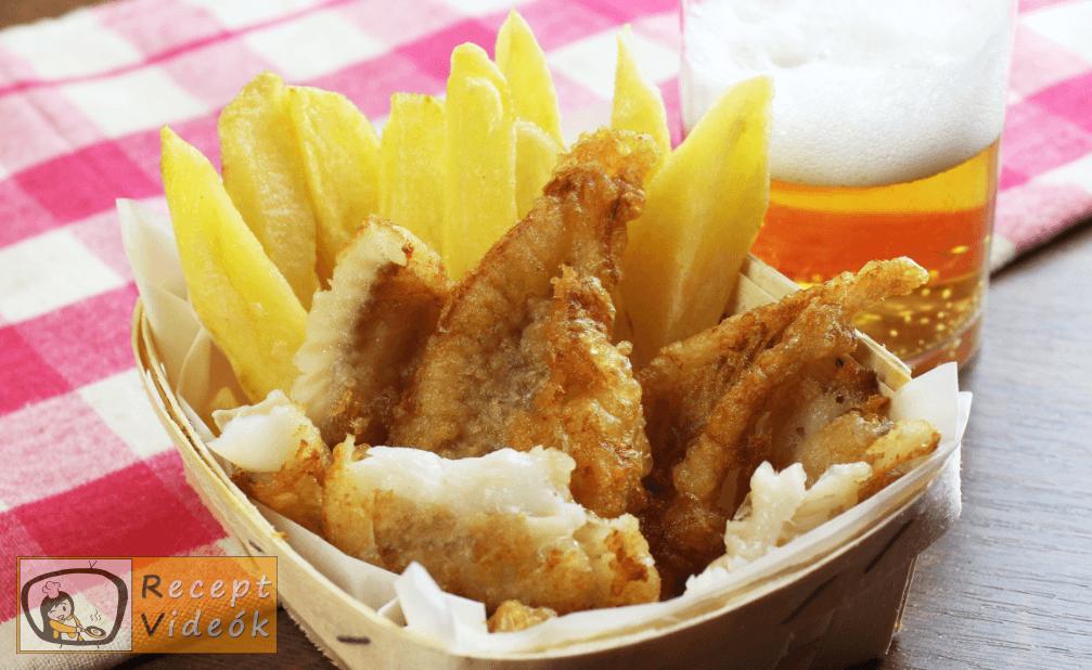 Fish and chips recept, fish and chips elkészítése 5. lépés