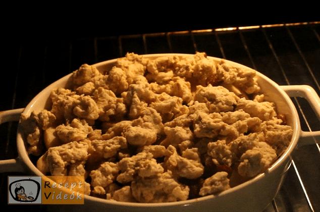 Almás crumble recept, almás crumble elkészítése 7. lépés