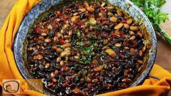 Sült bab recept, sült bab elkészítése - Recept Videók