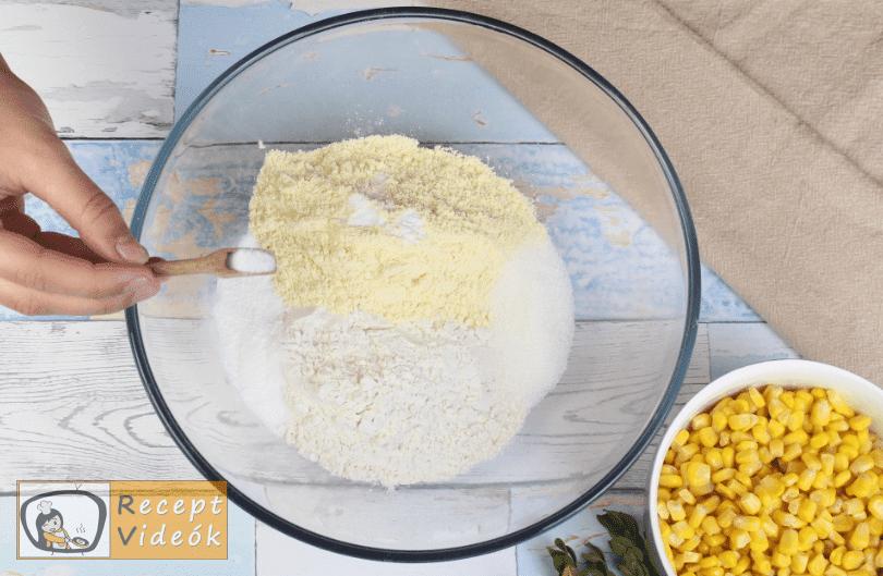 Kukoricás casserole recept, kukoricás casserole elkészítése 1. lépés