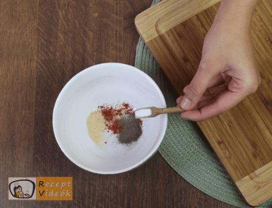 Sütőben sült karaj recept, sütőben sült karaj elkészítése 1. lépés