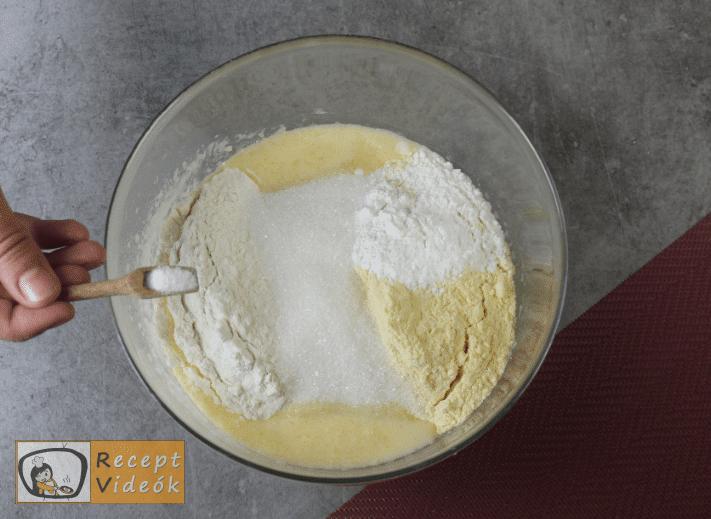 Kukoricakenyér recept, kukoricakenyér elkészítése 2. lépés