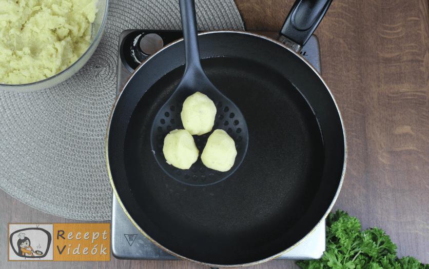 Amerikai tater tot sültkrumpli recept, amerikai tater tot sültkrumpli elkészítése 3. lépés