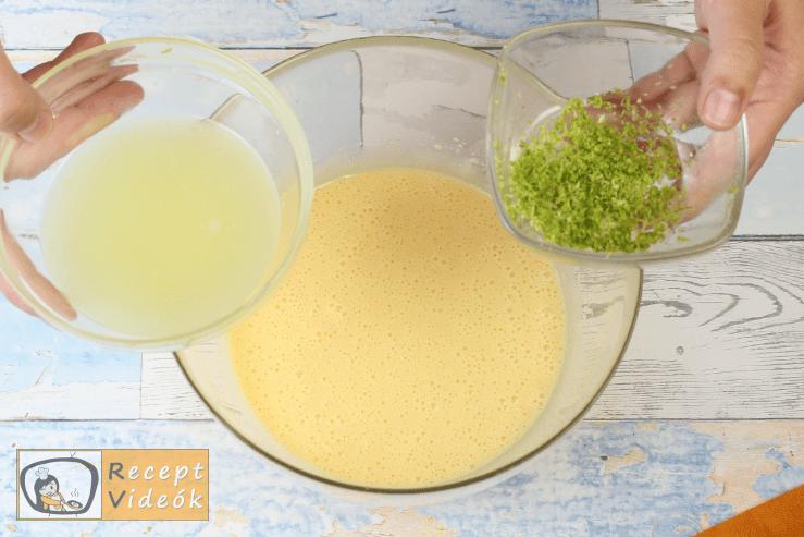 Key Lime Pite recept, key lime pite elkészítése 4. lépés