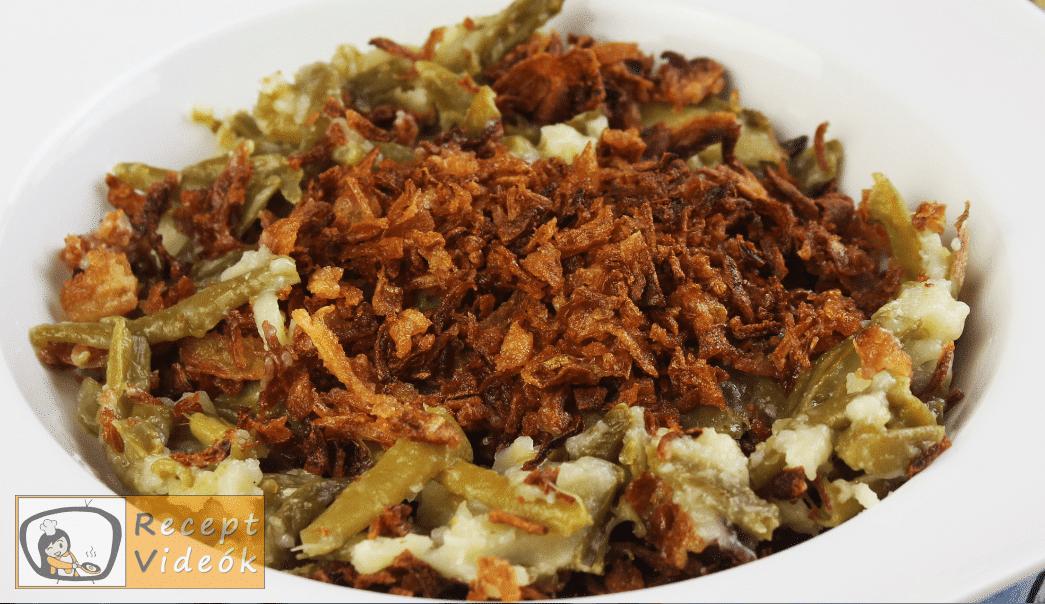 Zöldbab casserole recept, zöldbab casserole elkészítése 4. lépés