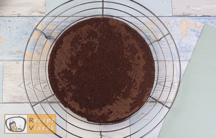 Csokis sütemény recept, csokis sütemény elkészítése 6. lépés