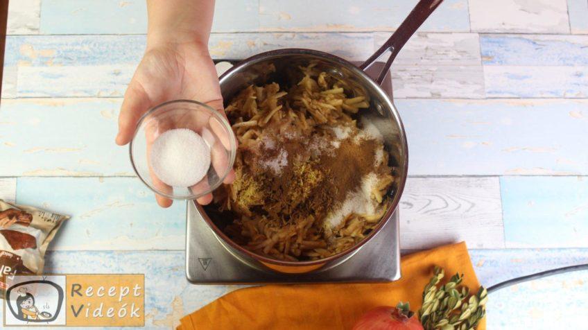 Almás-habos kocka recept, almás-habos kocka elkészítése 2. lépés