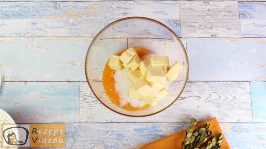 Almás-habos kocka recept, almás-habos kocka elkészítése 3. lépés
