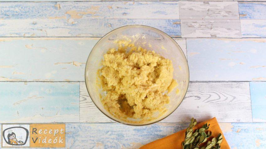 Almás-habos kocka recept, almás-habos kocka elkészítése 5. lépés