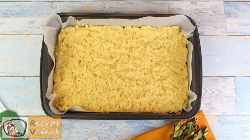 Almás-habos kocka recept, almás-habos kocka elkészítése 6. lépés