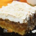 Almás-habos kocka recept, almás-habos kocka elkészítése - Recept Videók
