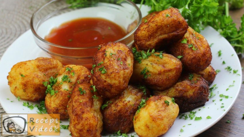 Amerikai tater tot sültkrumpli recept, amerikai tater tot sültkrumpli elkészítése - Recept Videók