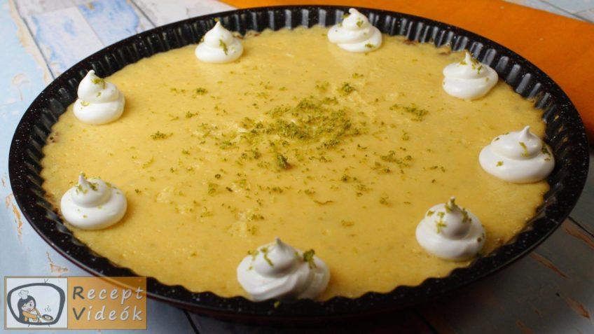 Key Lime Pite recept, key lime pite elkészítése 6. lépés