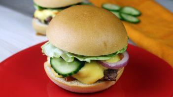 Amerikai sajtburger recept, amerikai sajtburger elkészítése - Recept Videók