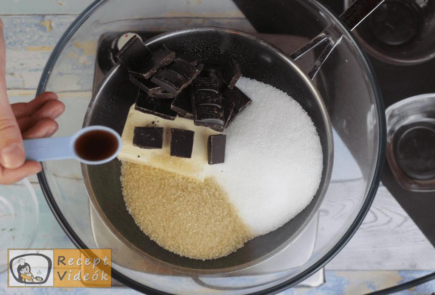 Brownie torta recept, brownie torta elkészítése 1. lépés