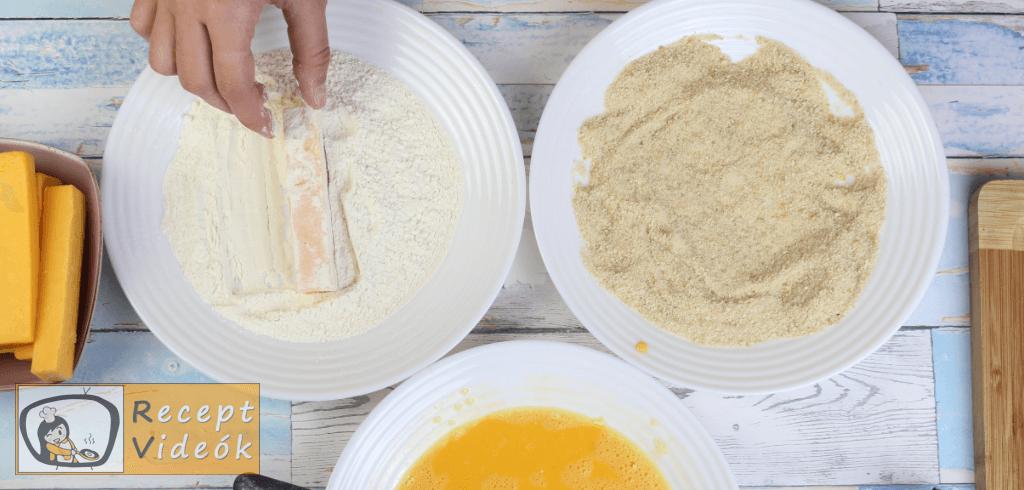 Cheddar rudak recept, cheddar rudak elkészítése 1. lépés
