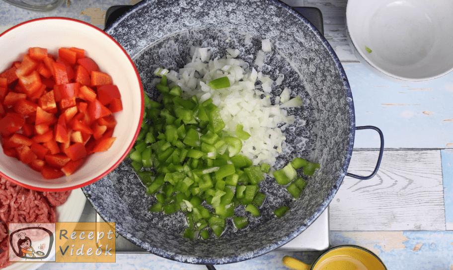 Taco recept, taco elkészítése 1. lépés