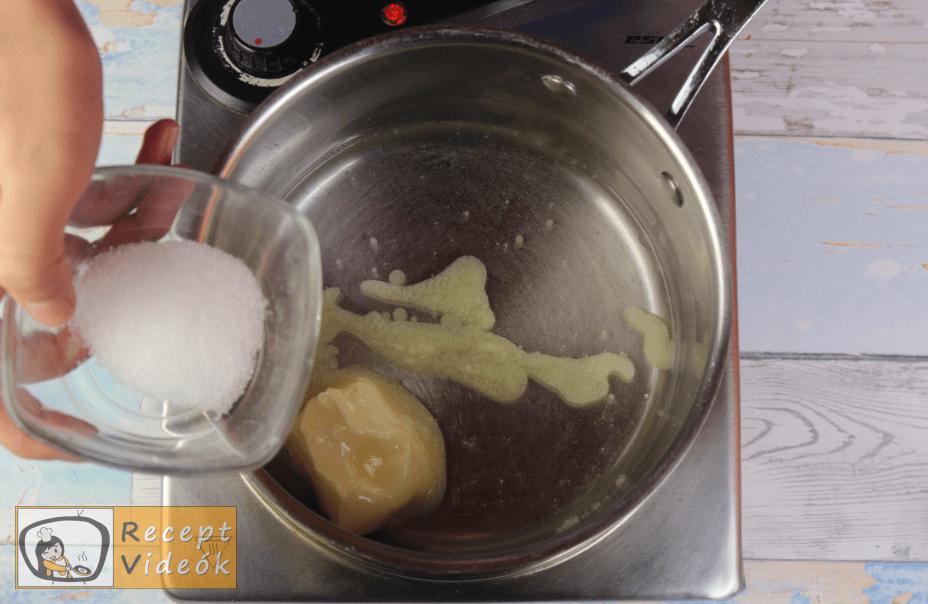Profiterol recept, profiterol elkészítése 1. lépés