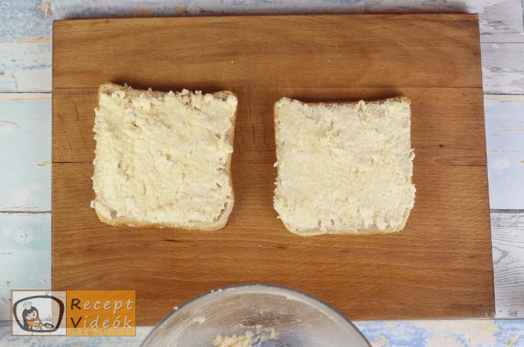 Grill Cheese szendvics recept, grill cheese szendvics elkészítése 2. lépés