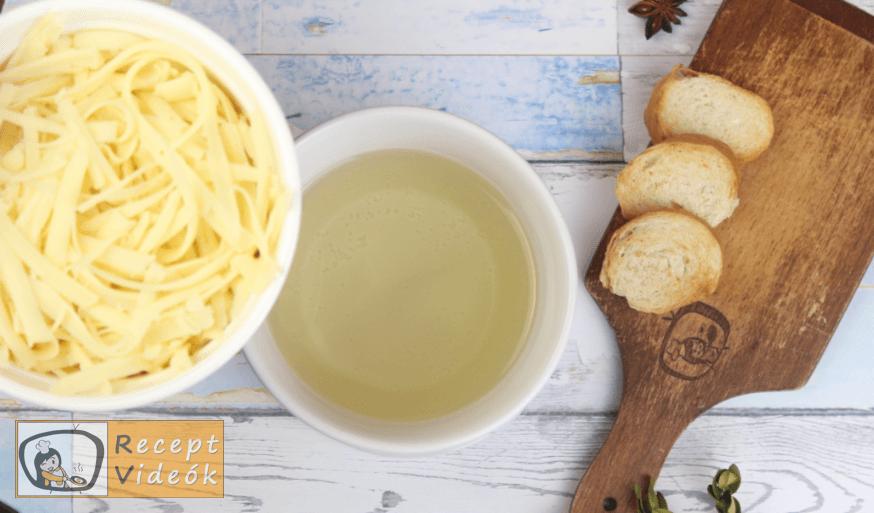 Sajtfondü (fondue) recept, sajtfondü (fondue) elkészítése 2. lépés