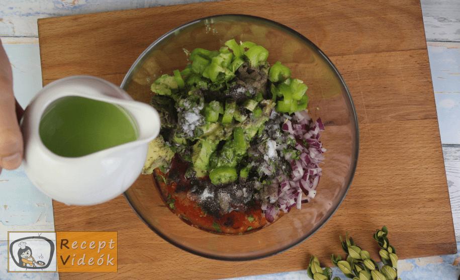 Guacamole recept, guacamole elkészítése 2. lépés