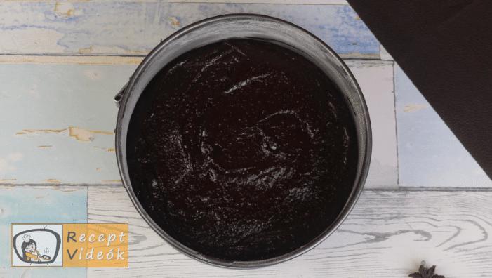 Brownie torta recept, brownie torta elkészítése 3. lépés