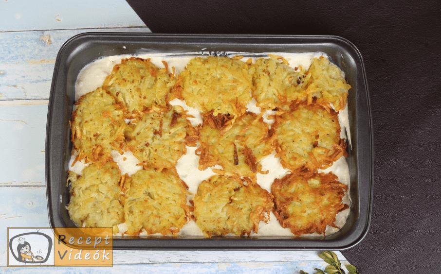Röszti casserole recept, röszti casserole elkészítése 3. lépés