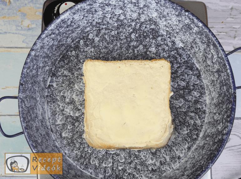 Grill Cheese szendvics recept, grill cheese szendvics elkészítése 3. lépés