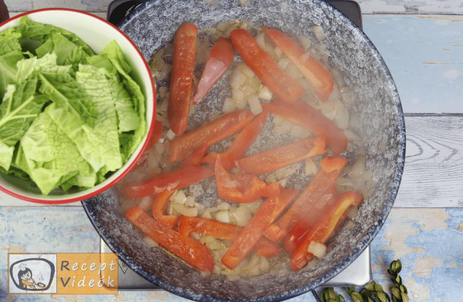 Zöldséges tofu recept, zöldséges tofu elkészítése 3. lépés