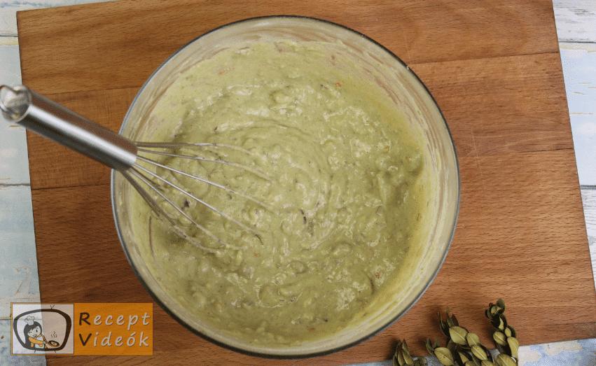 Guacamole recept, guacamole elkészítése 3. lépés