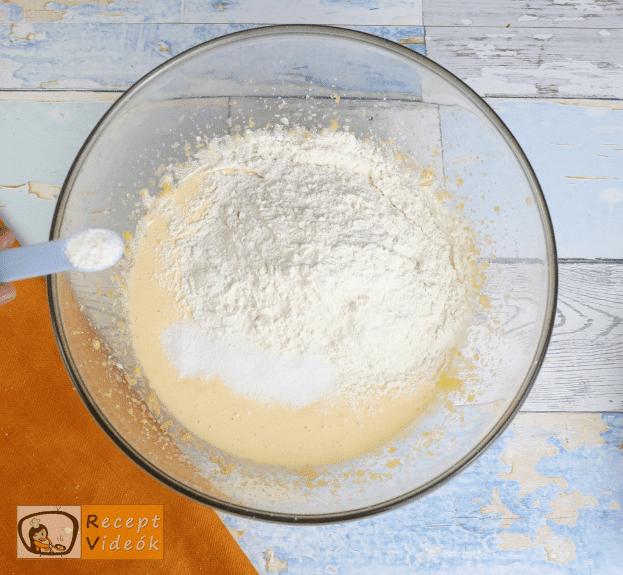 Almatorta recept, almatorta elkészítése 3. lépés
