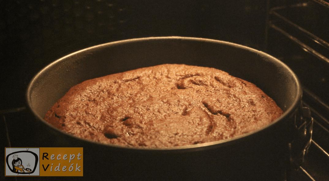 Brownie torta recept, brownie torta elkészítése 4. lépés