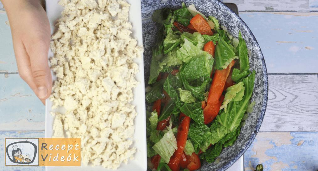 Zöldséges tofu recept, zöldséges tofu elkészítése 4. lépés