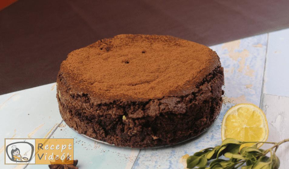 Brownie torta recept, brownie torta elkészítése 5. lépés