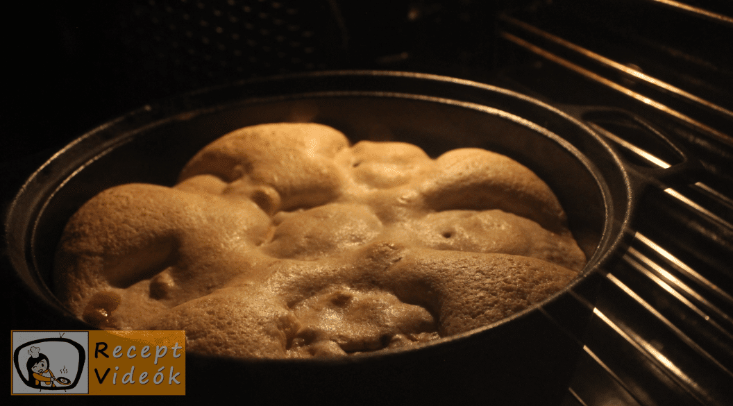 Almatorta recept, almatorta elkészítése 5. lépés