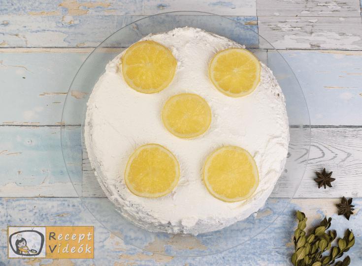 Citromtorta recept, citromtorta elkészítése 8. lépés