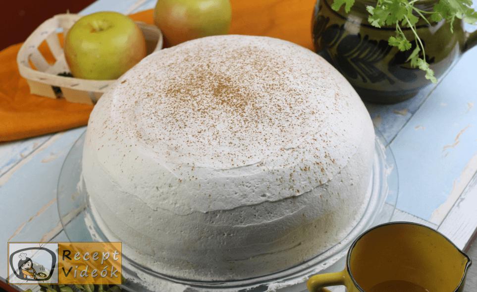 Almatorta recept, almatorta elkészítése 8. lépés