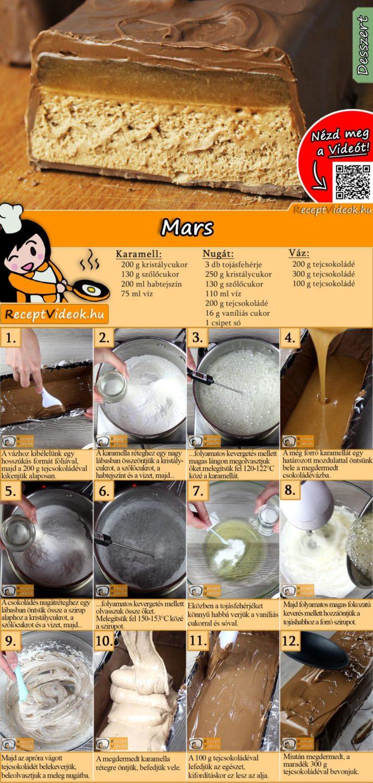 Mars recept elkészítése videóval