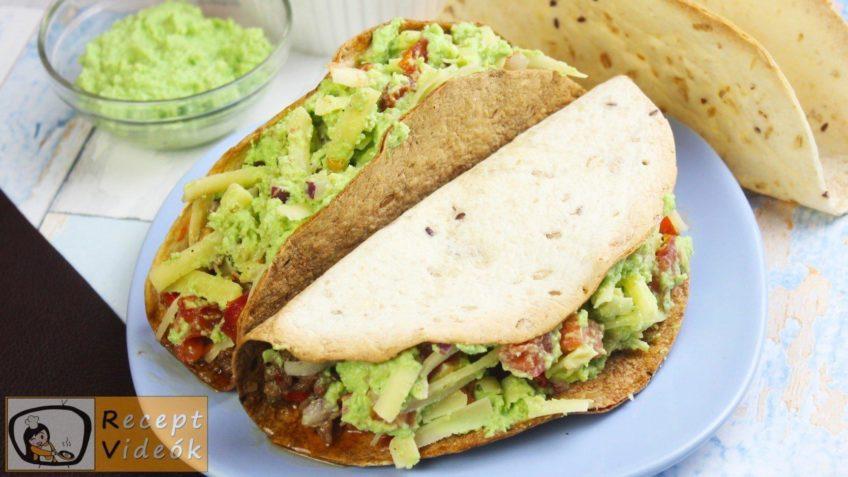 Taco recept, taco elkészítése - Recept Videók