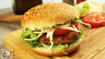 Vega burger recept, vega burger elkészítése - Recept Videók