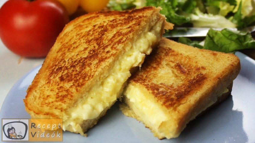 Grill Cheese szendvics recept, grill cheese szendvics elkészítése - Recept Videók