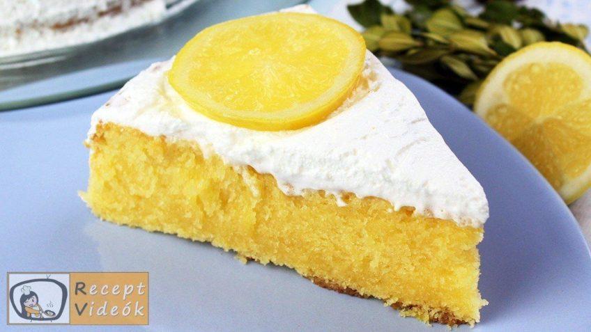 Citromtorta recept, citromtorta elkészítése - Recept Videók