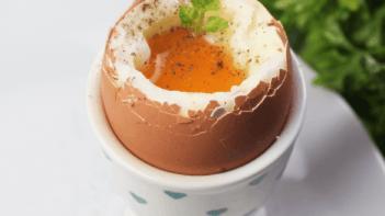 Lágy tojás recept, lágy tojás elkészítése - Recept Videók