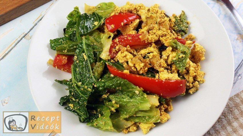 Zöldséges tofu recept, zöldséges tofu elkészítése - Recept Videók