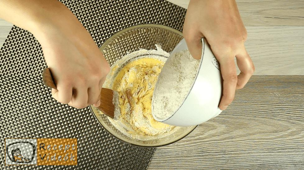 Diós gombák recept, diós gombák elkészítése 3. lépés