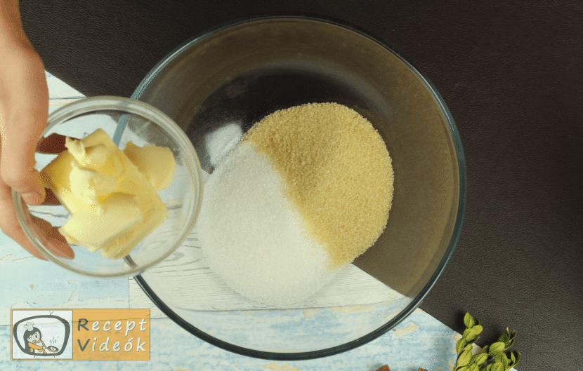 Gyömbéres keksz recept, gyömbéres keksz elkészítése 1. lépés