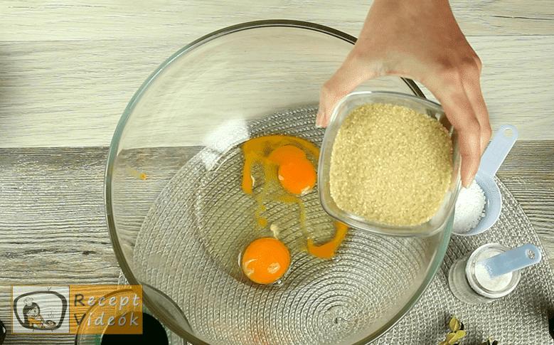 Grincs süti recept, grincs süti elkészítése 1. lépés